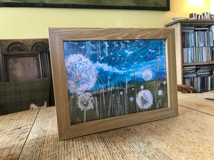 Framed print of Sent on the Spirit