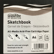 A4 Sketch pad with archival ink 02 drawing pen.