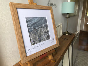 Framed print of 'Grey Misty Monday Morning II'