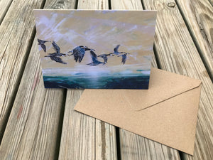 Pack of 1 or 5 or tins of 10 or 20 'And Breathe' cards
