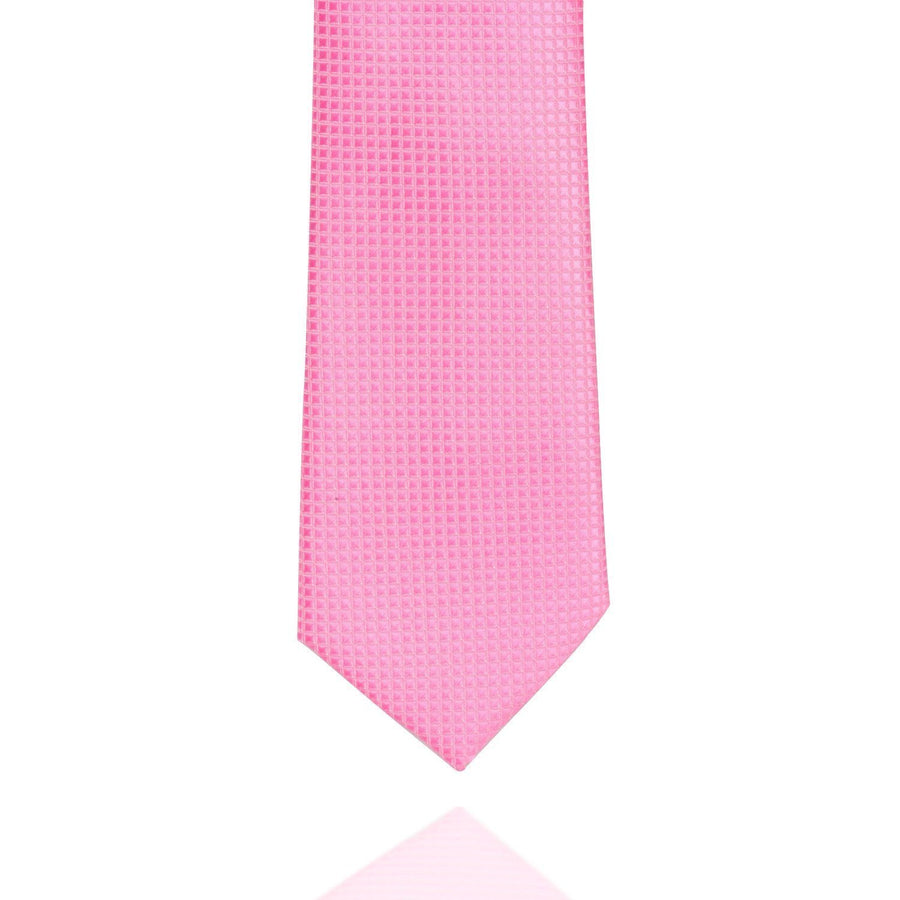 Pink Square MF Tie