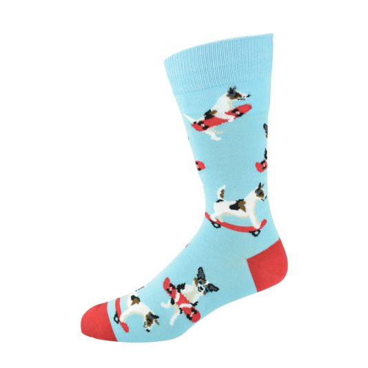 Mens Jack Russell Sock