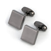 Gunmetal Square Cufflinks