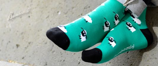 Mens Black Sheep Sock