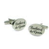 Brother of the Groom Script Wedding Cufflinks