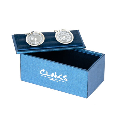 Fuel Gauge & Speedometer Cufflinks
