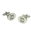 New Dad Script Cufflinks