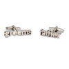 Groom's Father Cutout Wedding Cufflinks