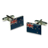 New Zealand Flag Cufflinks