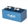 Dumbbell Weight Cufflinks