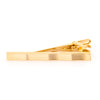 Gold Lines with Waves Tie Clip