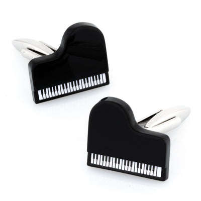 Black & White Piano Cufflinks