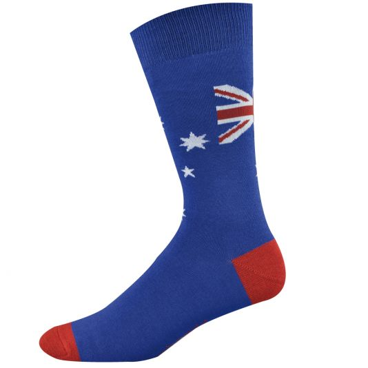Mens Aussie Flag Sock