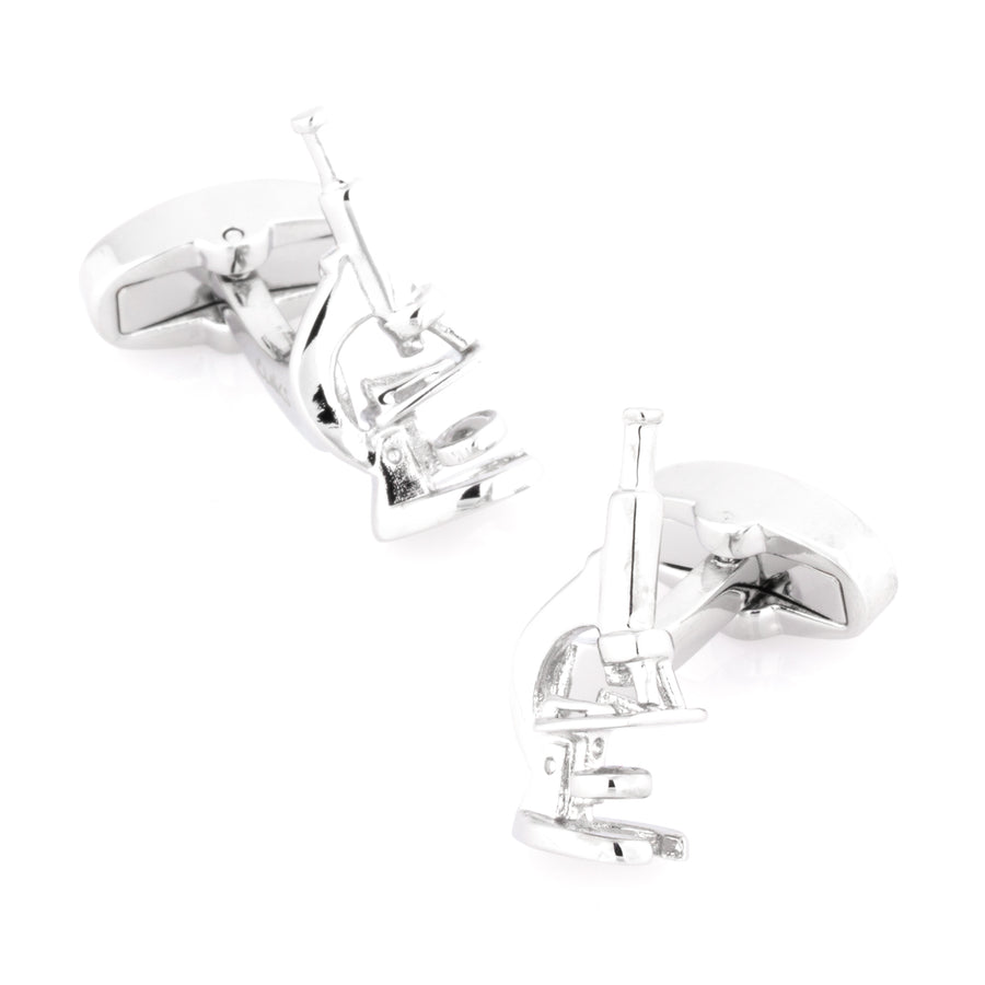 Scientist Microscope Cufflinks