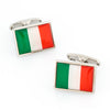 Flag of Italy - Italian Flag Cufflinks