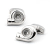 Silver Turbo Cufflinks