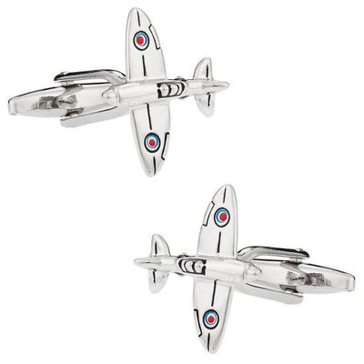 Spitfire Airplane Cufflinks