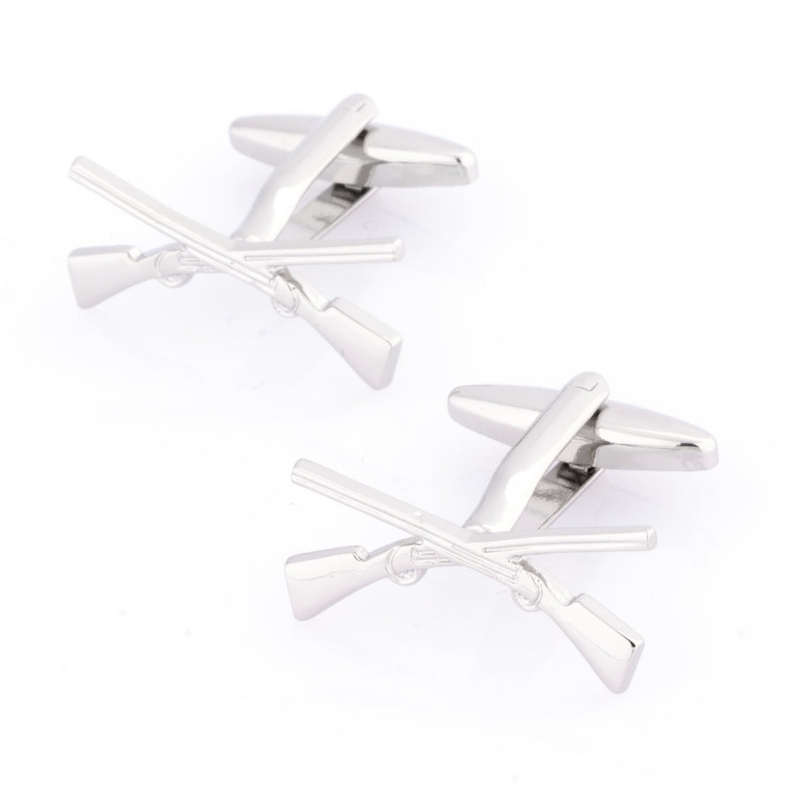 Crossed Rifle Cufflinks