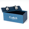 Black & White Soccer Ball Cufflinks