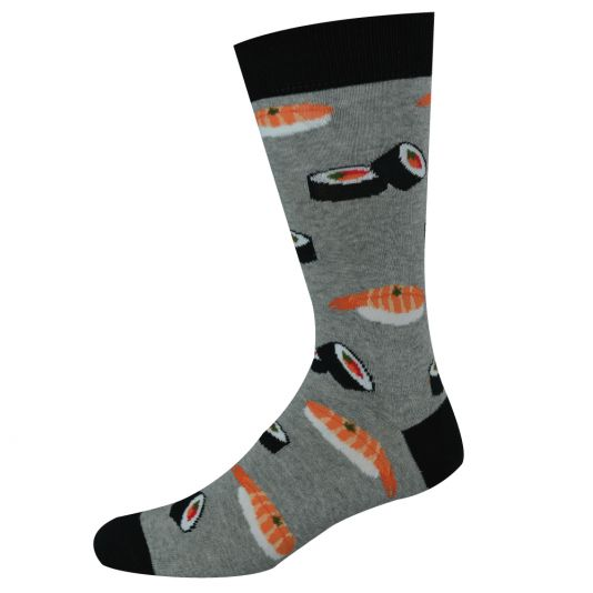 Mens Sushi Grey Sock