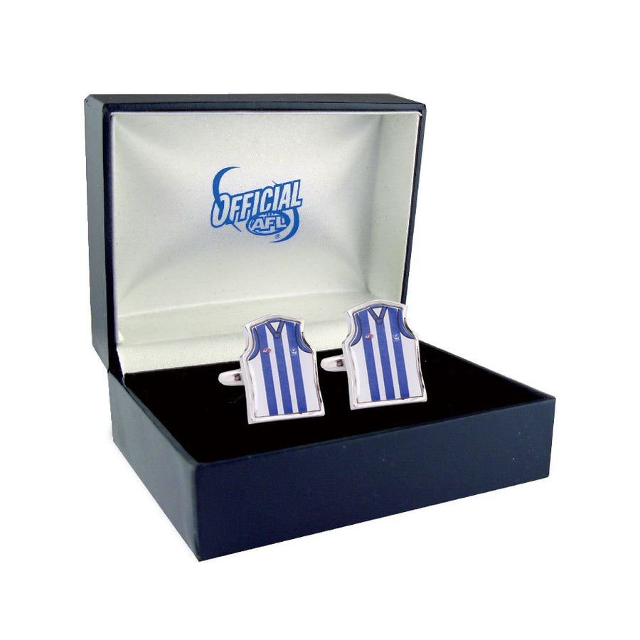 North Melbourne Kangaroos Guernsey Cufflinks