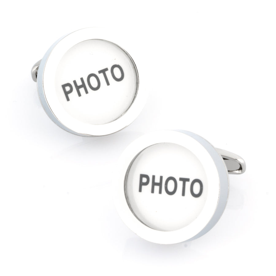 Insert your own Photo Cufflinks