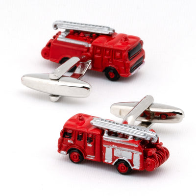 Red Fire Engines Cufflinks