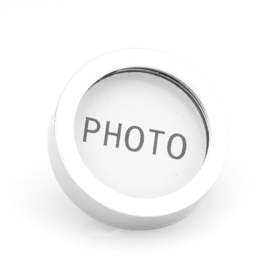 Insert your own Photo Lapel Pin