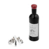 Shiraz Red Wine Bottle Lapel Pin