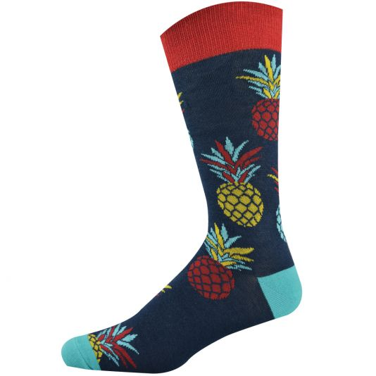 Mens Big Pineapple Sock