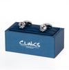 Small Silver Knot Cufflinks