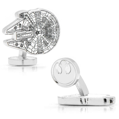 Star Wars Millenium Falcon Blueprint Cufflinks