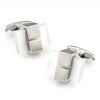 White Ice Cateye Cufflinks