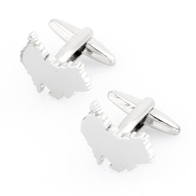 Outline Australian Map Cufflinks