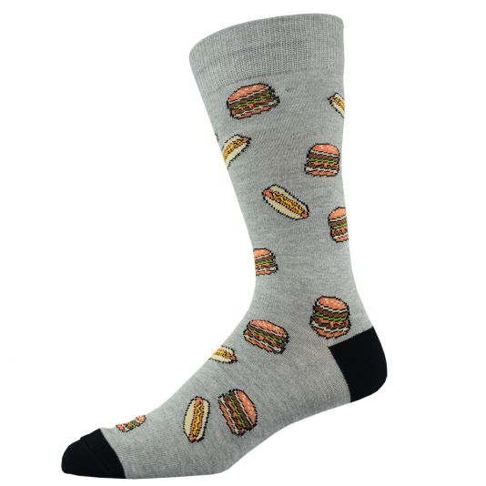 Mens Fast Food Sock