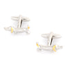Sausage Dog Cufflinks in Gold and Silver