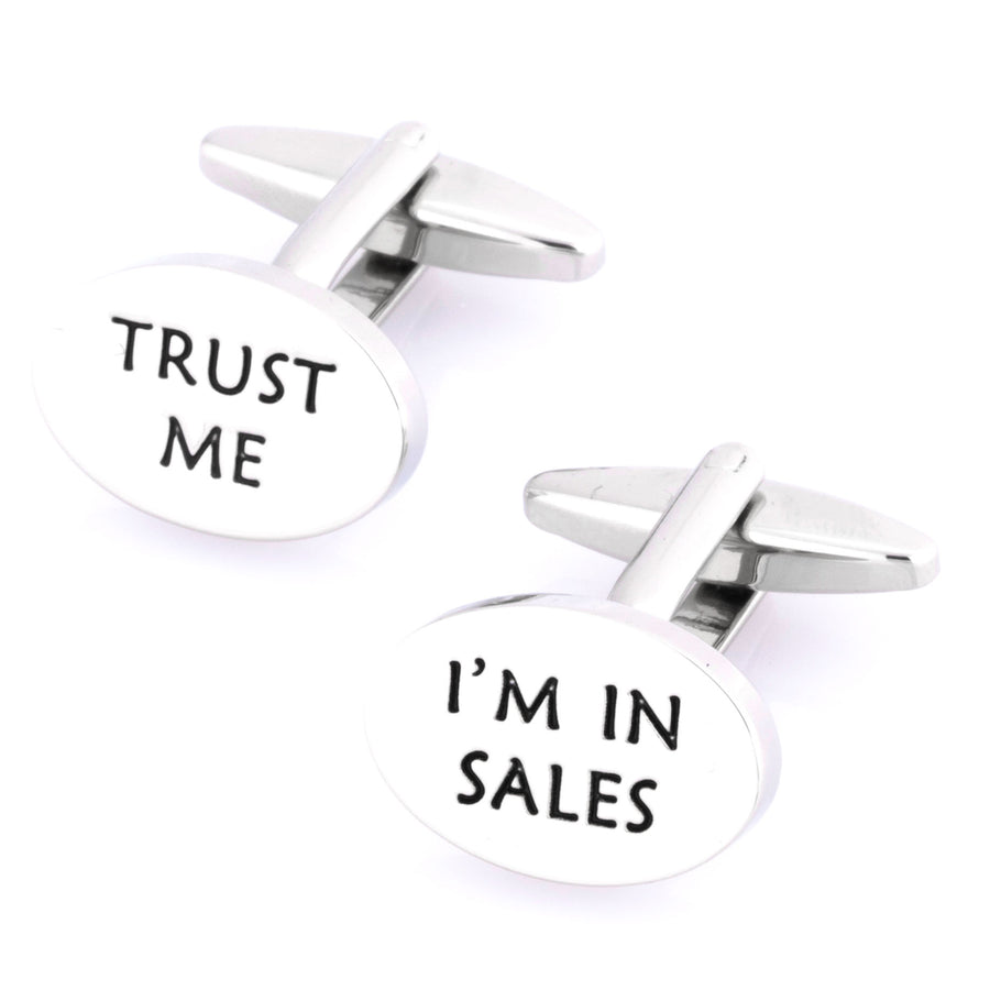 Trust Me, I'm in Sales Cufflinks