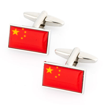 Flag of China - China Flag Cufflinks