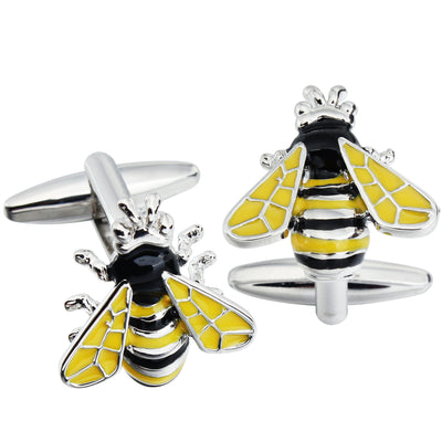 Bumble Bee or Wasp Cufflinks