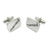 Married Wedding Cufflinks