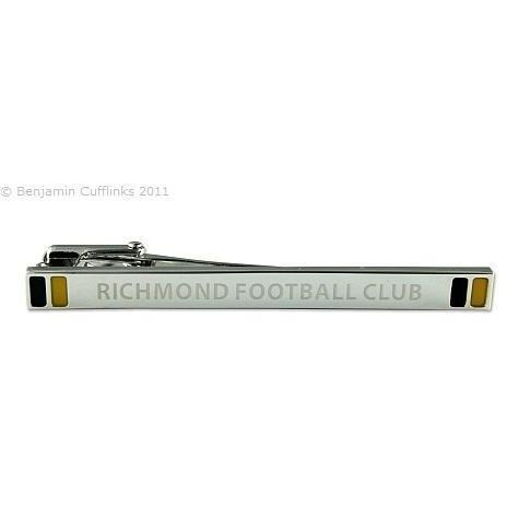 AFL Richmond Tigers Tie Bar