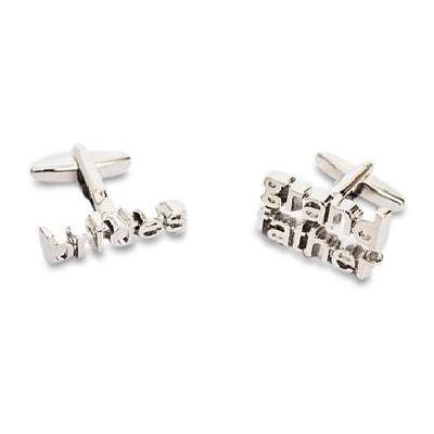 Bride's Grandfather  Wedding Cufflinks