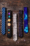 The 8 Planets Skinny Tie