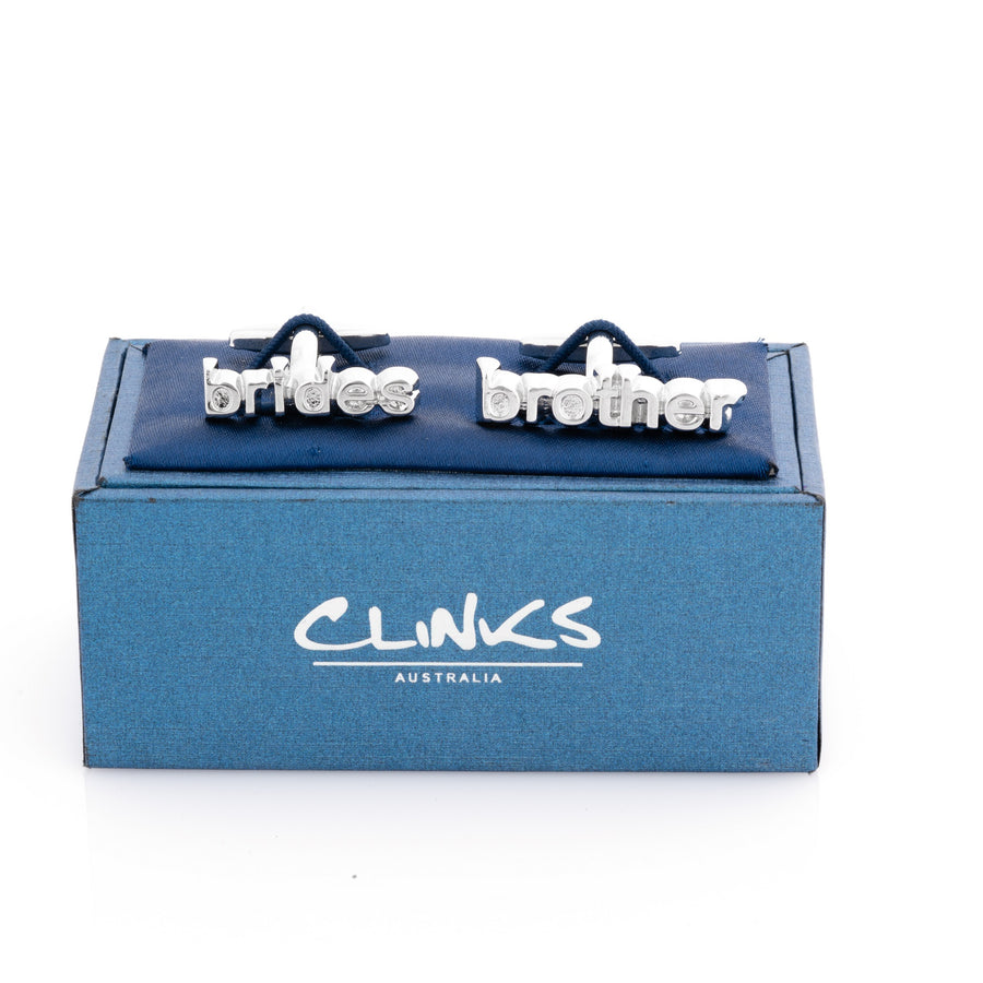 Brides Brother cut-out style cufflinks