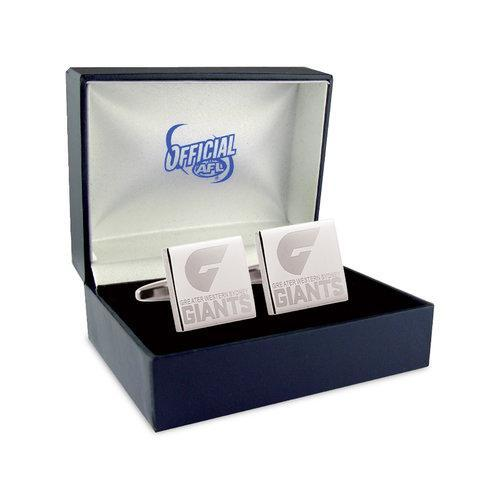 Silver Greater Western Sydney Giants Cufflinks