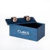 Rose Gold Knot Cufflinks