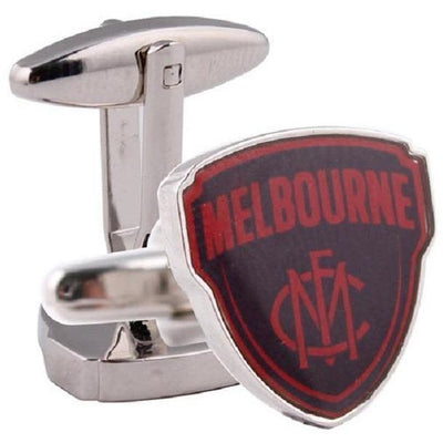 Colour Melbourne FC AFL Cufflinks