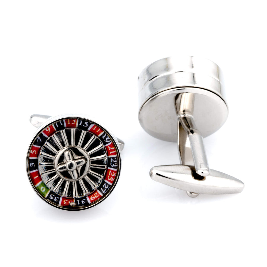 Spinning Roulette Cufflinks