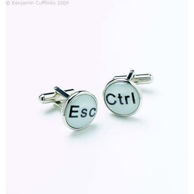 Escape and Control Buttons Cufflinks