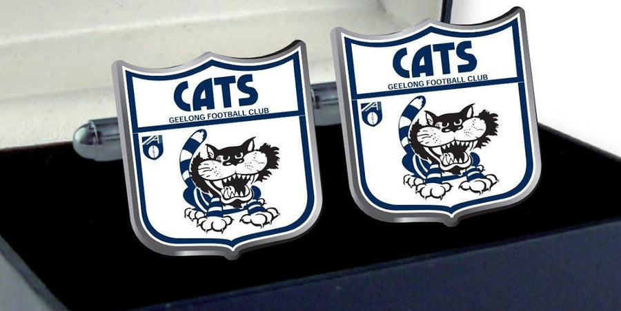 Geelong Cats Heritage AFL Cufflinks
